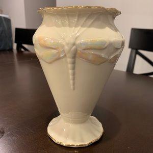 New Lenox Vase~Dragonfly Dreams